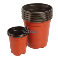 "Wholesale Small Pot For Flowers - 100PCS-PACK 3.5""  4"" High Quality Reusable Round Nursery Pots Plastic Plant Pot Flower Wholesale Pirce for Plants, Cuttings, Seedlings"