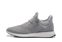 Wholesale Sports Footwear Brands - Supply Fashion Brand Men And Women Ultra Boost Pirate Black Running Shoes Footwear Sneakers Kanye West 550 Boost milan Sport Sneakers