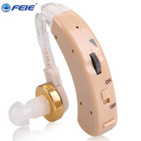 Wholesale Drop Shipping Shop - almost nothing shop Hot Sale feie Beige Analog Behind Ear Hearing Aids S-520 ear machine Drop Shipping
