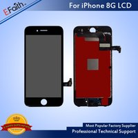 Wholesale Pixel Repair Lcd - 100% No Dead Pixel LCD For iPhone 8 LCD Display Touch Digitizer Wonderful Repair Replacement For Phone 8 with Tools With Free DHL Shipping