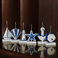 Wholesale Boat Names - Mediterranean Boats Name Number Message Card Table Place Holder For Wedding Party Home Office Decoration Free Shipping ZA4429