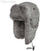Wholesale Kenmont Trapper Hat - Wholesale-Free Shipping Holiday sale New Arrival Kenmont Free Shipping Winter Trapper Hat, Fur-like Russian Hat KM 2159