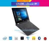Al por mayor-Onda original oBook 11 Windows 10 + Android 5.1 Tablet PC de 11,6 '' IPS 1920 * 1080 IntelCherry-Trail Atom X5 Quad Core 4 GB 64 GB
