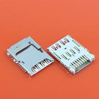 tarjeta sim coolpad al por mayor-Al por mayor-10pcs sim lector de tarjetas + toma de tarjeta de memoria para Samsung Galaxy Note 3 N900A N900 para Mega 6.3 Galaxy I9200 I9205 I9208