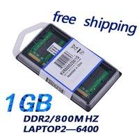 Wholesale Ram Memory Ddr2 Dimm - Free shipping: original Brand new 1GB ram 800MHz DDR2 1.8v PC2-6400 SO-DIMM SDRAM Laptop Memory
