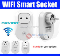 Wholesale Orvibo Wifi Smart Power Socket Timer Switch EU AU US UK Plug Wireless Control Home Automation For iPhone iPod Android Phone