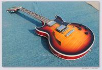 Wholesale Sunburst Electric Jazz Guitar - Wholesale and retail 2017 Custom Shop 12 Strings Sunburst Jazz Guitar Vintage Electric Guitar Free Shipping