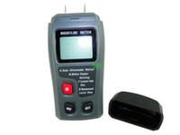 Wholesale Portable Moisture Tester - Wholesale-Portable RZMT-10 Moisture Tester High Precision Moisture Detector Ranges Wood 8 -60% And Building Material 0.3 - 2.0% Wholesale