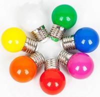 e27 шаровые шаровые лампы оптовых-3 Вт E27 E26 B22 Светодиодный шариковый световой эффект DJ глобус Лампа Свет пузыря Лампы Освещение сцены 85-265 В