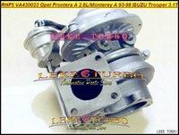 isuzu trooper turbolader großhandel-RHF5 VA430023 8970863433 Turbo Turbolader für OPEL Frontera A 2.8L TD Monterey A 3.1L Für ISUZU Trooper 4JG2TC 3.1L TD 115 PS