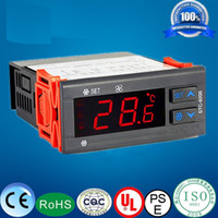 Wholesale Refrigerator Control - Refrigerator Double Controlled Defrost STC-9200 Temperature Controllers temperature recorder sensor temperature