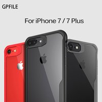 Wholesale Silm Phone - 2017 new real High quality Original for iphone 6 7 8 iphone 6 7 8 plus case Luxury Silm Protection Phone Soft Shell Hard Back Cover Black