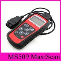 Wholesale Car Diagnosis Obd - MaxiScan MS509 Autel Code Scanner OBD II OBD2 Fault Diagnosis Instrument For Vehicle Detection Instrument Code Reader Car Diagnostic Tool