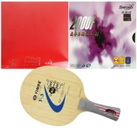 Wholesale Combo Table - Wholesale-Pro Table Tennis PingPong Combo Racket: Galaxy Y-3 (Shakehand) and Donic TAICHI (Tacky) Sword 2000F (back off)