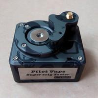 Wholesale Voltage Range - Pilot Vape Tester Super E Cig Tester Ohm Meter Resistance Tester Voltage Meter Wide Test Range 521 Tab OLED Screen Fast Shipping