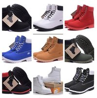 Wholesale Boots Waterproof For Men - 2017 Newest Band 10061 Yellow Boot Fashion Boots Leather Waterproof Men boots Work Boot for Camping Hiking Shoes Work Boots EUR40-45