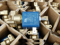 Wholesale Ac Solenoid - 2PCS JYZ-3 Normally Closed N C 3 2 Way AC 110V Or 220V G1 8' Brass Iron Steam Water 2 Position 3 Way Solenoid Valve