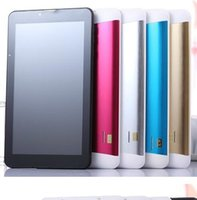 7 Inch 3G Android 4.4 MTK6572 Dual Core 512MB RAM 4GB ROM 3G Chamada telefônica GPS Bluetooth WIFI WCDMA Tablet PC