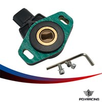 Wholesale PQY RACING FOR CIVIC SI RSX TYPE S K20A2 TPS THROTTLE POSITION SENSOR WITH GASKET AND BOLTS PQY5971