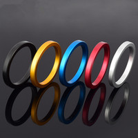 Wholesale Steel Cockrings - Metal Aluminum Man's Penis Rings CockRings Delayed Ejaculation Adult Products Casing Delay Lock Loops Cockrings Sex Rings A37