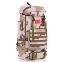 Wholesale Best Backpacks For Travel - Best pric new fashion for men and women the large capacity 75 L travel tourism camouflage mountaineering backpack outside BaoHu leisure bags