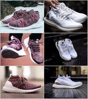 Wholesale Women Winter Boots Size 11 - Ronnie Fieg KITH x Ultra Boost Mid Primeknit Multicolor White Mid Consortium Uncaged Running Shoes Street Fashion US Size Women 5-11 Men