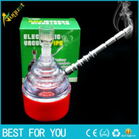 Wholesale Electric Hookahs - electric smoking pipe shisha hookah mouth tips cleaner snuff snorter sniff vaporizer rolling machine injector metal herb grinder