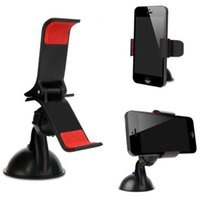 Wholesale car bluetooth phone holder for sale - Group buy 2017 Universal Car AUTO Dashboard ACCESSORIES Rotating Mobile Phone Windshield Mount GPS Holder Free Shippping