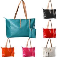Wholesale Sac Pochette - 2016 Famous Brand Lady Leather Handbag Purse Fashion Women Tote Shoulder Bag Sac Pochette Clutch Bag Female Messenger Bags Bolso