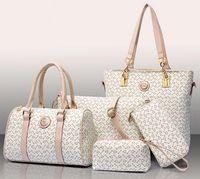 Wholesale Direct Hits - Direct brand Factory handbag elegant temperament herringbone hit color five sets of high-grade woman handbag fashion mother bag