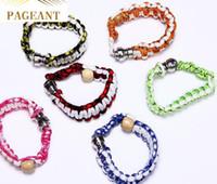 bracelets de narguilé achat en gros de-Caché pipe de tabac pour le tabac Descreet Bracelet pipe de pipe poignet narguilé à la main perlé Bracelet fumer brins couleurs assorties