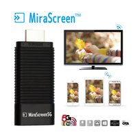 MiraScreen 5G TV Stick inalámbrico HDMI Display Dongle WiFi DLNA AirPlay MiraCast Espejo Airmirroring Chromecast para Mac OS x10.9 android iOS