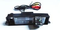 Wholesale Toyota Rav4 Rear Camera - HD 600TVL Car Rear View Reverse Backup Camera Auto Reversing Parking Camera For 2009-2013 TOYOTA RAV4 Night Vision