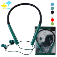 Wholesale Earphones Iphone Beautiful - Selling Hanging ear stereo Portable earphone Sport Bluetooth headset MS-770 hight quality Beautiful and durable for sony iphone samsung