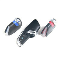Wholesale Bmw X6 Accessories - Genuine leather Key case key wallets men key chain holder Organizer for BMW X5 F15 X6 F16 Car accessories