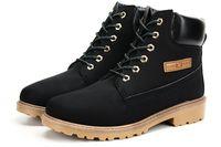 Wholesale Velvet Heels - New big size leather men boots winter man shoes ankle boot men's snow shoe martin cowboy autumn man fur velvet flats B