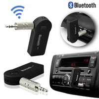 cılız hoparlörler toptan satış-Ses Blutooth Som Bleutooth Mini Kablosuz Taşınabilir Bluetooth Alıcısı Ses Adaptörü Müzik Aux 3.5mm Hoparlör MIC Çalar Portatil