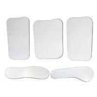 Wholesale Photographic Mirror Dental - 5Pcs Per Set Dental Orthodontic Intraoral Photographic 2sided Rhodium Glass Mirrors