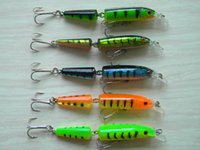 Wholesale Esca Fishing Lures - Jointed lures 10.5CM 9.6G 4# hooks Fishing lure Minnow plastic artificial fishing tools jerk fish esca tackle