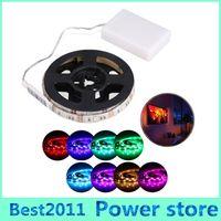 Wholesale Mini Diode - Waterproof led strip RGB SMD 5050 Flexible Lights 5V Battery powered LED Lighting Mini Controller led tape light Diode Tape