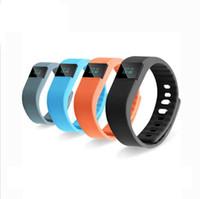 фитнес-флеш-браслет фитнес-трекер оптовых-TW64 Smartband Fitbit Flex стиль зарядки IP67 Спорт tw64 смарт браслет Браслет Bluetooth 4.0 для IOS Iphone Android телефон фитнес-трекер