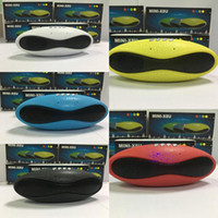 Wholesale Best Mini Portable Bluetooth Speaker - New Mini X8U Rugby Football Bluetooth Speaker Portable NFC Bluetooth Supporting U Disk  TF  FM Outdoor Best Gift Speaker DHL Shipping free