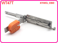 Wholesale Lock Pick Saab - Auto Smart WT47T 2 in1 decoder and pick tools( suitable for Saab),Locksmith tool free shipping