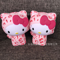Wholesale Cat Phone Chain - New Squishy Cat Big Squishy Simulation Food For Key Ring Phone Chain Toys Gifts All Kinds Of Style