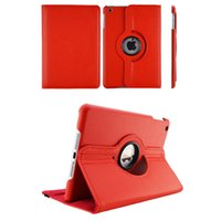 Wholesale Ipad Case Screen Stylus - For Apple iPad Pro 12.9 Cover Case 360 Rotating Smart Cover for iPad PU Leather Protect Fundas w Screen Protector+Stylus Pen