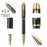 Wholesale Executive Ball Pen - 8 Colors Full Metal PARKER IM serie roller ball pen Business Executive Parker rollerball Pens as Luxury gift Writing Office