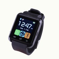 Wholesale Handsfree Bluetooth Bracelet - Bluetooth Smart Watch Smartwatch U8 U80 U MTK Handsfree Digital-watch Sport Bracelet Wristband for Android Phone iPhone Samsung