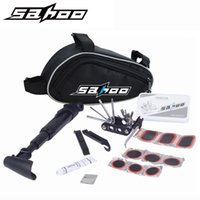 Wholesale Pump Pouches - SAHOO Bike Bicycle Cycling Portable Repair Tools Bag Folding 15 in 1 Tyre Repair Multifunctional Kit Set With Pouch Pump