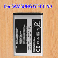 Wholesale Gt Mobile Wholesalers - Mobile Phone Battery For Samsung GT-E1190 Flip Style E2530 GT E2330 GT S5150 E2210L AB463446BU 800mAh
