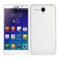 Wholesale lenovo phone - Lenovo A5800D inch Quad Core Phone G RAM G ROM MP Camera Android Unlocked Cell Phones